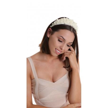 Pearls Headband H1829